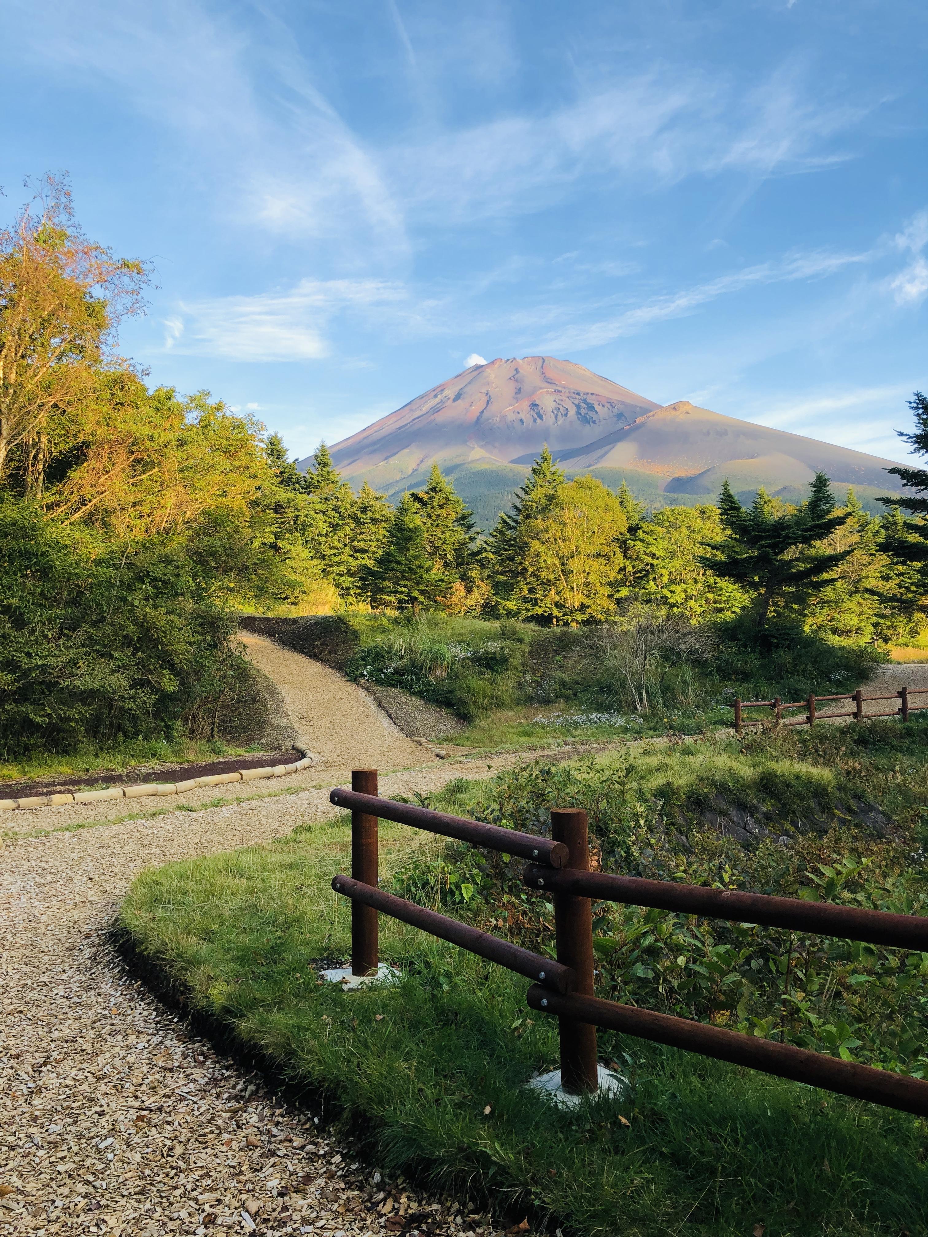 富士山南東麓 都心から70分 準高地トレーニングができるまち裾野市