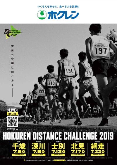 ホクレン・ディスタンスチャレンジ2019網走大会結果