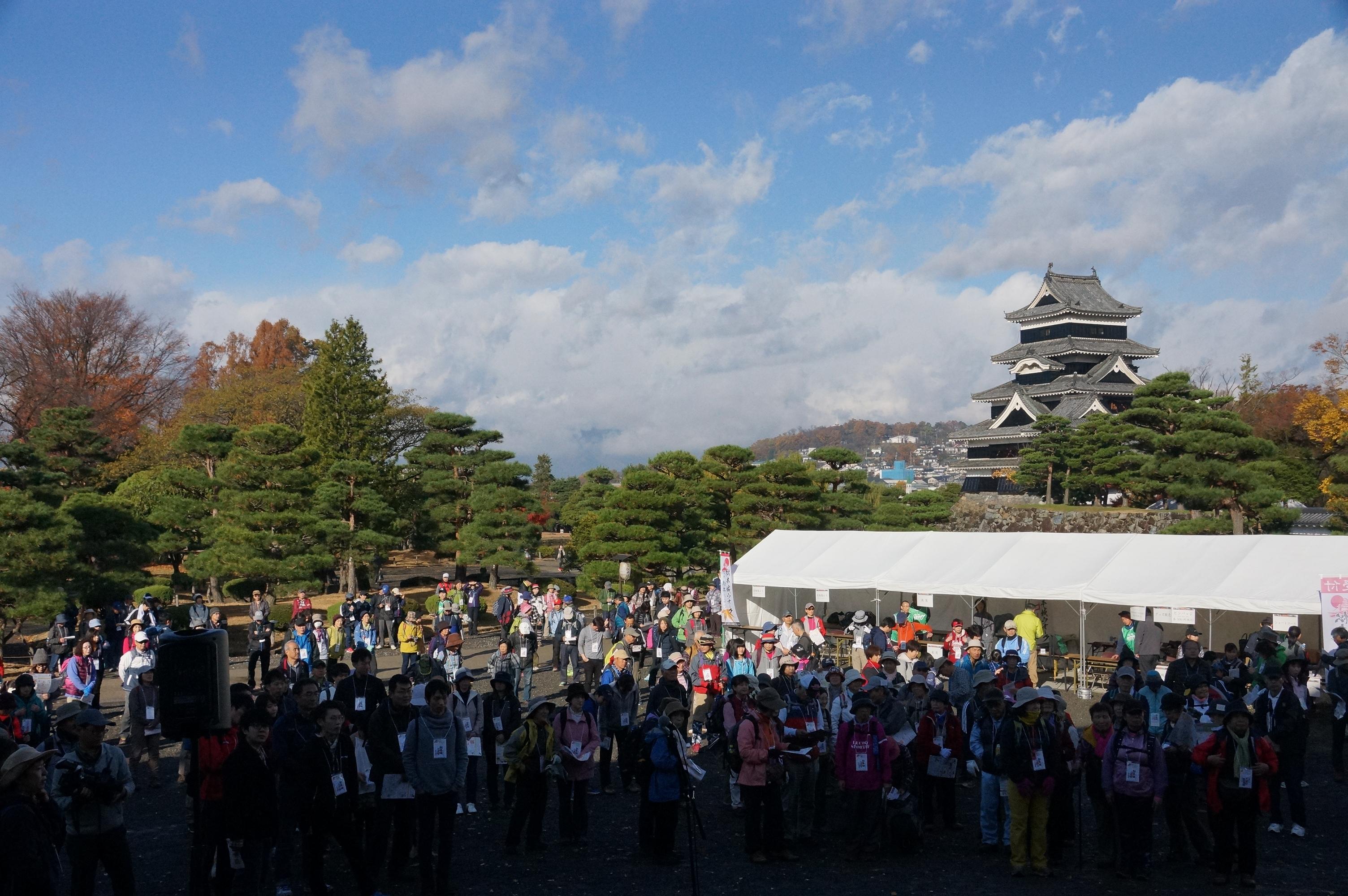 松本城ウオーク2020