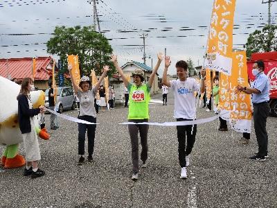 「塩谷町を歩こう!!みんなで408キロ」イベント実施