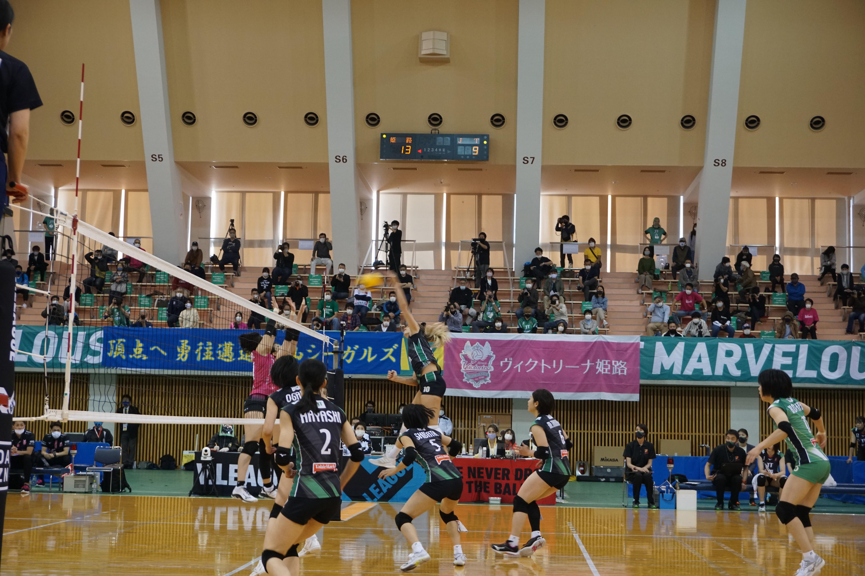 2020-2021 V.LEAGUE DIVISION 1 WOMEN 加古川大会を開催しました