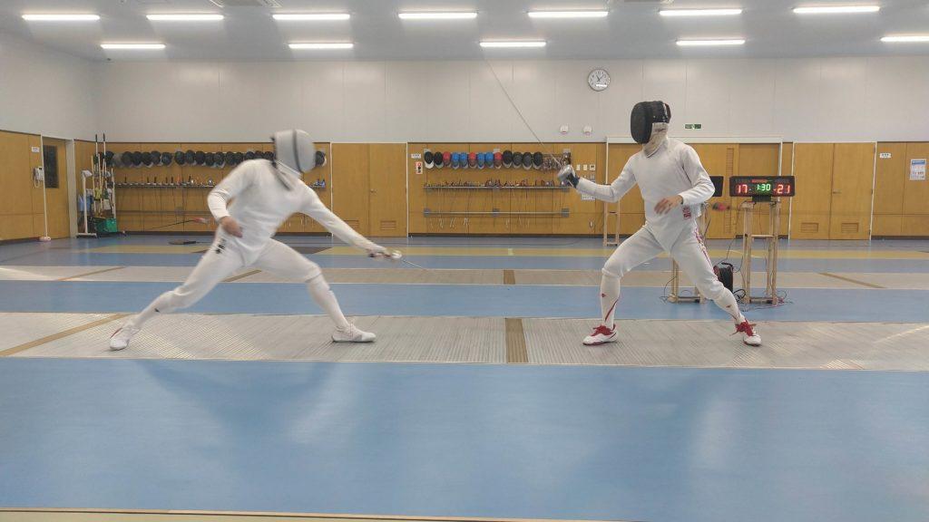 フェンシング男子エペ日本代表が佐賀で強化合宿を実施!