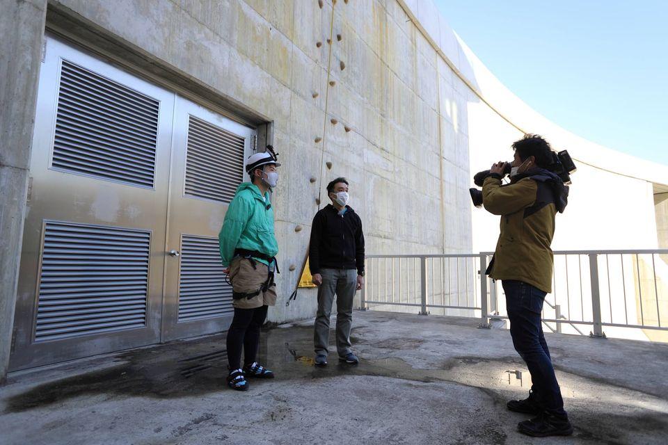 横瀬川ダムクライミングウォールがテレビ放映されます