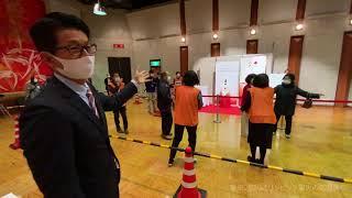 宿毛に聖火がやってきた!!東京2020オリンピック聖火の巡回展示